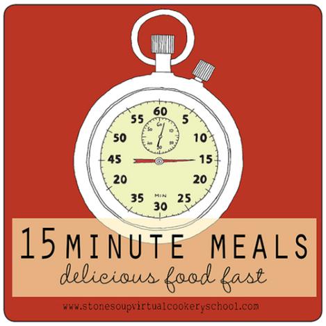 Oct WAP meeting 15 minute meals