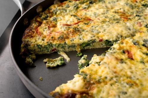 kale-and-roasted-pepper-frittata